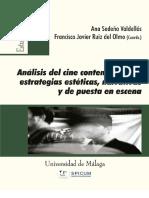 Analisis Del Cine Contemporaneo Estrategias Esteticas, Narrativas