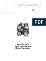 Series 74 Positioner Manual