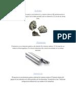 Elementos de La Tabla Periodica Axel Machorro