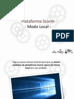 Tutorial Configuração Plataforma Scorm