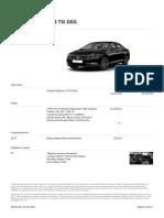 Oferta VW Passat 19 Iunie 2017