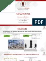 PARARRAYOS SUBESTACIONES