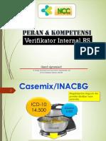 Peran Verifikator Internal PERSI PLBG