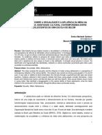 Sexualidade, Mídia e Adolescência, Cardoso