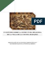 Un Estudio Sobre La Estructura Religiosa de La Villa de La Cocosa (Badajoz)