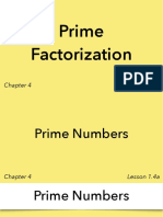 1.4a - Prime Factorization