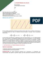 Secc. 7.1, Definicion de Transformada de Laplace