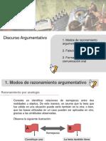 Discurso Argumentativo II