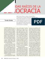 Hondas Raíces de la Democracia - Tomás Straka