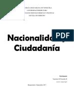 ensayo sobre nacionalidad y ciudadania