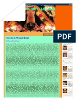 Lord Tirupati Balaji_ História de Tirupati Balaji