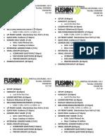 Wk.9 Schedule