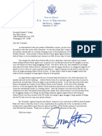 Duncan Hunter letter to President Trump to Pardon Ignacio Ramos and Jose Compean