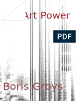 Groys, Boris - Art Power (Corretto)