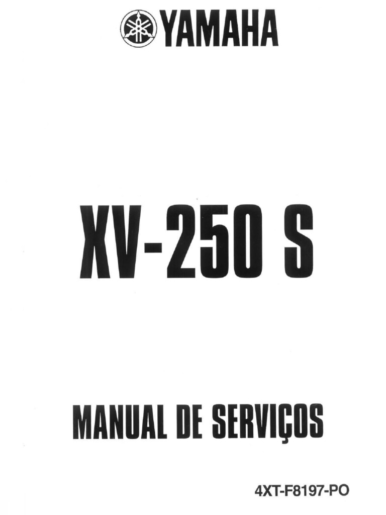 manual de servi o virago 250 pdf rh scribd com manual de peças virago 250 manual de peças virago 250