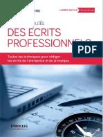 Jeanne Bordeau-La boîte à outils des écrits professionnels. Toutes les techniques pour rédiger les écrits de l'entreprise et de la marque.-Eyrolles (2013)