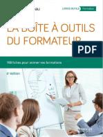 Dominique Beau, Bernard Pasquier-La boite à outils du formateur-Eyrolles (2015)