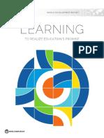 Crisis del Aprendizaje. Informe del Banco Mundial 2018.pdf