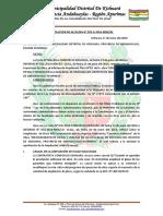 RESOLUCION DE ALCALDIA AMPLIACION DE PLAZO N° 02 DE KISHUARA