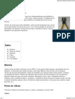 Alicate – Wikipédia, A Enciclopédia Livre