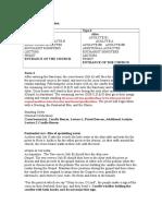 Altar Server Form 2 With Sepcial Ocassion
