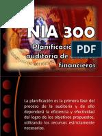 Normas internacionales de auditoria 300-399