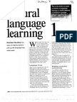 Dudley R 2004 Natural Language Learning