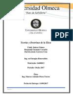 Teorías y Doctrinas de La Etica
