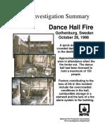 Fire Investigation Summary 6-1998