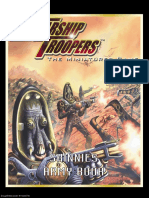 Starship Troopers Skinnies Army Book