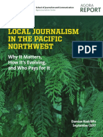 Local Journalism in the Pacific Northwest