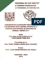 Fanny Gissela Santa Cruz Chinchay
