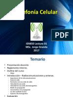 Introduccion a Telefonia Celular