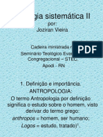 Jozivan Vieira - Teologia Sistemática II