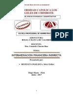 INTERMEDIACION FINANCIERA