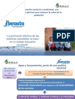 EDUCACION SANITARIA Y AMBIENTAL