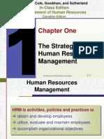 Dessler human resource management Chapter 1
