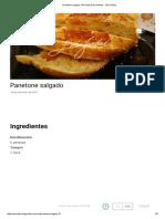 Panetone Salgado _ Receitas Edu Guedes - Site Oficial