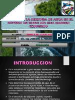 Sistema de Riego Rio Sisa Margen Izquierdo