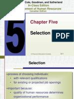 Dessler Human resource management Ch05