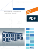 WEG Inversor de Frequencia de Media Tensao Mvw01 10413103 Catalogo Portugues Br