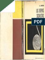 Morton, Arthur - Las Utopías Socialistas, Ed Martínez Roca, 1970