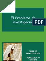 El Problema de La Investigacion