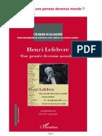 Henri Lefebvre. Une Pensée Devenue Monde