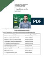 Práctica 2 - Tipos de Variables y Escalas - Monografias.com