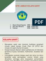 Tugas 1. Karakteristik Limbah Kelapa Sawit