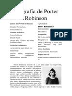 Biografía de Porter Robinson