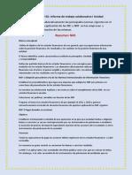 Actividad Nº 02 Informe de Trabajo Colaborativo I Unidad