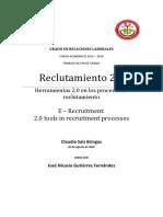 reclutamiento 2.0