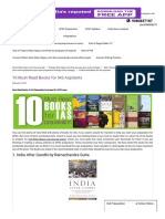 10 Must Read Books for IAS Aspirants - Byjus